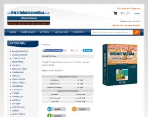 Livraria farmacêutica